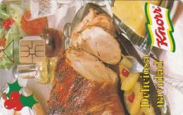 Venezuela, CAN2-0172, Knorr Christmas, Salsa De Pasas, 2 Scans. - Venezuela