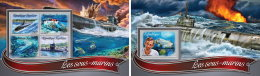 TOGO 2016 ** Submarines U-Boote Sous-marins M/S+S/S - OFFICIAL ISSUE - A1637