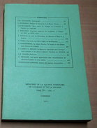 Tome IV - Fasc.2 Memoires De La Sociètè D´Histoire De Comines Et De La Région 1974 - Bücher, Zeitschriften, Comics