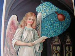 Engel Ostern Litho 1912 Aus Königstein Taunus - Engel