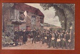 1 Cpa Les Dernieres Cartouches - Guerra 1914-18