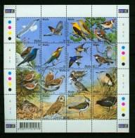 Malta 2001,16V In Sheetlet,birds,vogels,vögel,oiseaux,pajaros,uccelli,aves,MNH/Postfris(L2670) - Oiseaux