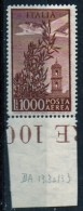 "PIA - ITA - Specializzazione : 1959: Posta Aerea ""Campidoglio""   £ 1000   - (SAS 151 - CAR 37) - Errors And Curiosities"
