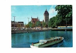 Suisse ZURICH - Vue De La Limmat Musée - 1972 - Bateau Tramway Autobus - ZH Zurich