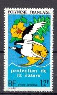 Naa1073 FAUNA VOGELS VISSEN FISH NATURE PROTECTION BIRDS VÖGEL AVES OISEAUX POLYNESIE FRANCAISE 1974 PF/MNH - Milieubescherming & Klimaat