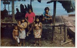 CHOCO Indians Of DARIEN, Of PANAMA - Indiens De L'Amerique Du Nord