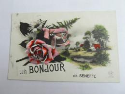 SENEFFE  Un Bonjour De Seneffe  BELGIQUE - Seneffe