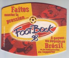 - SOUS-BOCK - KRONENBOURG - Foot Bock 98. Jeu à Gratter - - Sous-bocks