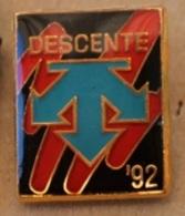 SKI ALPIN - DESCENTE '92  -                                        (2) - Wintersport