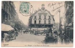 CPA - DIEPPE (Seine Inférieure) - La Place Du Puits Salé - Dieppe
