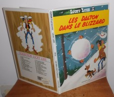 Lucky Luke. Les Dalton Dans Le Blizzard. 1986. Dupuis - Lucky Luke