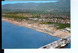 S81 CARTOLINA Di Marina Di Carrara - Panorama Dal' Aereo - Aerial View, Vue Aerienne _ NON VIAG. - Carrara