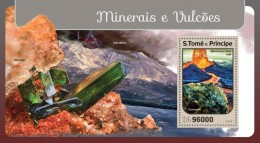 S. Tome&Principe. 2016 Minerals And Volcanoes. (401b) - Vulcani