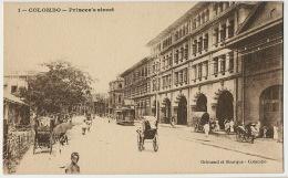 1 Colombo Prince's Street Edit Grimaud Et Sburque Tram - Sri Lanka (Ceylon)