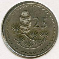 Chypre Cyprus 25 Mils 1971 KM 40 - Chypre