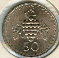 Chypre Cyprus 50 Mils 1963 KM 41 - Cyprus