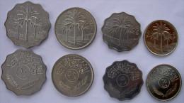 IRAK (1969+)SERIE 4 MONETE 5-10-25-50 FIL FDC FAO - Iraq