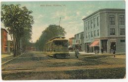 Poultney Main Street, Vermont Tramway Tram - Etats-Unis