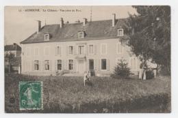 52 HAUTE MARNE - AUBERIVE Le Château, Vue Prise Du Parc - Auberive