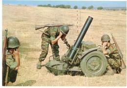 CPM FRANCE THEMES MILITARIA - Mortier De 120mm - Material