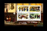 IRELAND/EIRE - 2008  IRISH MUSICAL GROUPS  MS   MINT NH - Blocchi & Foglietti