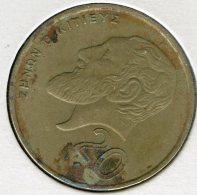 Chypre Cyprus 20 Cents 1989 KM 62.1 - Chypre