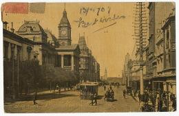 Swanson St  Melbourne Tramway Tram Victioria P. Used To Havana Cuba - Melbourne