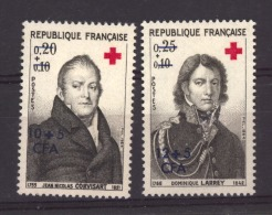 Réunion :   Yv  362-63  * - Isola Di Rèunion (1852-1975)