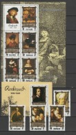 North Korea 1983 Paintings Rembrandt Set Of 4 + 2 S/s MNH