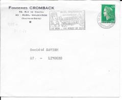 HAUTS DE SEINE -  N° 975a  S -  RUEIL MALMAISON / LES CHATEAUX / LES BOIS LES BORDS DE SEINE    1969    AU TARIF - Oblitérations Mécaniques (flammes)