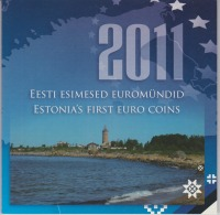 Coin Estonia Coinage 2011 / II 0.01 - 2  Euro UNC - Estonia's First Euro Coins - Estland