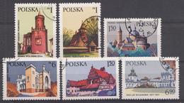 Pologne 1977  MI.nr.: 2531-2536 Baudenkmäler  OBLITERE / USED / GEBRUIKT - 1944-.... Republik