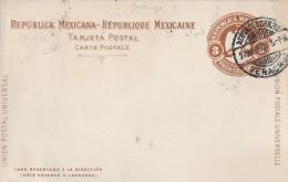 MEXIKO → Ganzsache 3 Centavos 1901  ►Veracruz◄ - Mexique