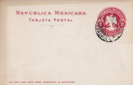 MEXIKO → Ganzsache 2 Centavos 1907  ►Veracruz◄ - Mexique