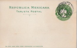 MEXIKO → Ganzsache 1 Centavo 1901  ►Veracruz◄ - Mexique