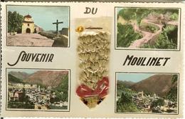 CP Souvenir Du MOULINET . - Contes