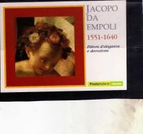 ITALIA  REPUBBLICA ITALY REPUBLIC 2004 MOSTRA DI JACOPO DA EMPOLI IL PARMIGIANINO 2003 CARTOLINA POST CARD - Malerei & Gemälde