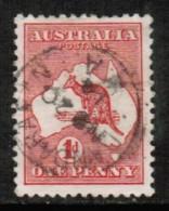 AUSTRALIA   Scott # 2 VF USED - 1913-48 Kangaroos