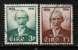 IRELAND   Scott # 165-6 VF USED - 1949-... Republic Of Ireland