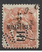 Colonie PORT SAID N° 72  CN 1 Indice 8 Perforé Perforés Perfins Perfin