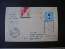 ENVELOPE Circulated WITH STAMP, STAMP 1 CIRCULATION DAY COMMEMORATIVE STAMP AND THE WORLD CHAMPIONSHIP FOOTBALL IN 1970 - 1970 – Mexico