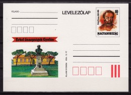 Ferenc Erkel / Music HYMN Composer Conductor Pianist Piano -  STATIONERY POSTCARD - MNH - 1993 HUNGARY - Musik