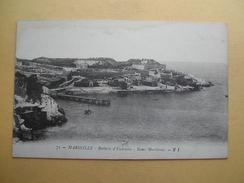 La Batterie D´Endourne Et Les Bains Maritimes. - Endoume, Roucas, Corniche, Plages
