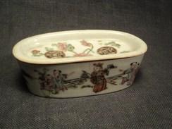 Boite à Grillons Porcelaine Chine 19ème Chinese Porcelain Ceramic19th - Art Asiatique