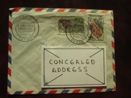 1960 Senegal - Genuinely Postally-used FDC - National Parks Definitives (Buffalo)(Warthog) - Senegal (1960-...)