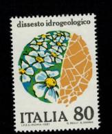 Italia - Italy 1981 Ambiente - Dissesto Idrogeologico 1v Complete Set ** MNH - 1981-90: Neufs