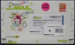 PAP Lettre Max 1 Kg Marchandises Festive Avec Carte Modèle M - 10S355 10/10 Neuf Sous Blister - Postal Stamped Stationery