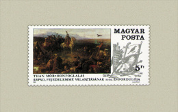 Hungary 1989. Arpad - Paintings Stamp MNH (**) Michel: 4053 / 1.20 EUR - Ungarn