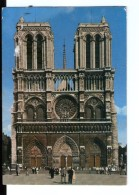 S197 France, Paris, Notre Dame Et Le Parvis  _ Editions Lyna _ Ecrite - Notre Dame De Paris