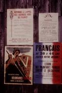 Photo Diapo Diapositive Vichy Et Collaboration N°16 Propagande Recrutement L.V.F Et Waffen SS En 4 Affiches VOIR ZOOM - Diapositives